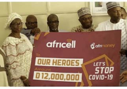 Africell donates