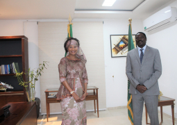 Dr. Tangara meets Senegalese foreign minister