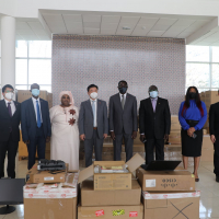 Foreign ministry receives equipment