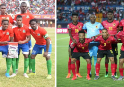 Gambia National Team and Angola