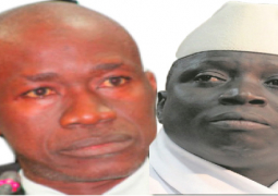 Jammeh and Lawyer Mboge