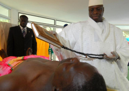 Jammeh on HIV treatment