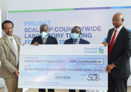 Standard Chartered donates