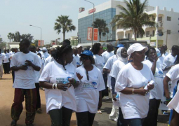 participants at walk