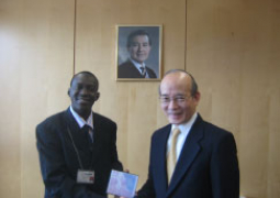 jawneh and taiwan germany ambassador