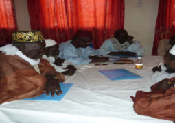 participants at the training fgm
