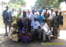 participants at the sensitization exercise