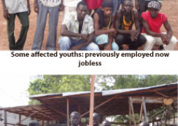 youths in timber business