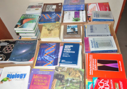donated books to the utg
