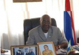 his excellency alhaji mohamed kemo fadika  sierra leone high commissioner to the gambia