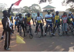 gambian cyclists