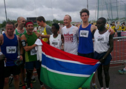 gambian long distance runners