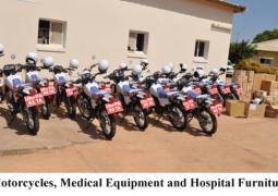 motorcyclew and medical eduipments