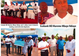 ecobank with serrekunda hospital