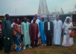 gcci officials with ministers