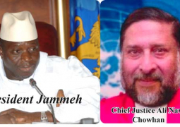 president jammeh and chief justice ali nawaz chowhan