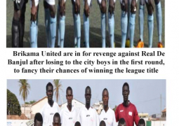 brikama utd and real de banjul