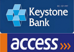 keyston bank and access bank