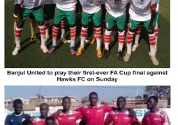 banjul united and hawks