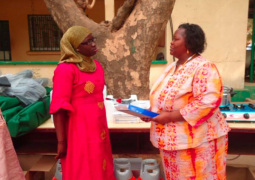 isatou yabo with fao rep