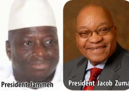 jammeh and jacob zuma