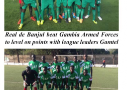 real de banjul and armed fores
