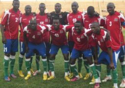 gambia train afcon