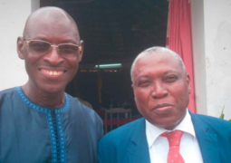 amadou tall with ecowas official