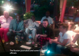 the russian journalists and some gtboard officials