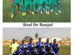 real de banjul and league leaders gambia ports 1