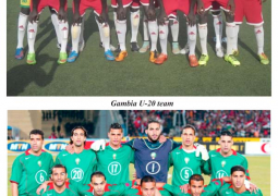 gambia u20 and morocco u 20