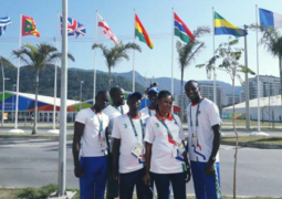 gambian delegation at rio
