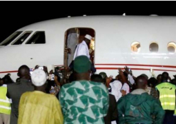jammeh flight to guinean