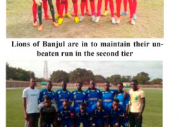 lion of banjul and fortune fc