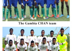 gambia chan team and senegal u 20