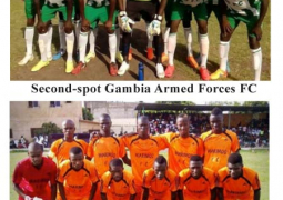 gambia armed forces and marimoo fc