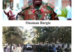 ousman badjie and military exercise