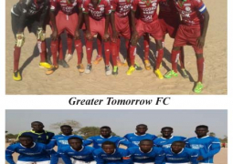 greater tomorrow fc and gunjur unt