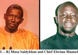 musa saidykhan and chief ebrima manneh