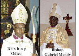 bishop odico and bishop gabriel mendy