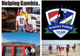 helping gambia