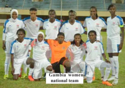 gambia women national team